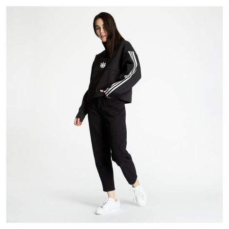 adidas Fleece Over-The-Head Sweatshirt Black