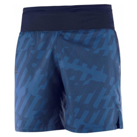 Salomon XA TRAINING SHORT M blau - Herren Shorts