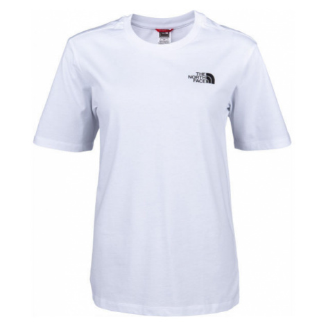 The North Face BF SIMPLE DOME weiß - Damenshirt