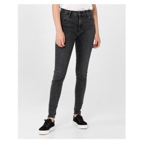 Levi's® 720™ High-Waisted Super Skinny Jeans Schwarz Levi´s