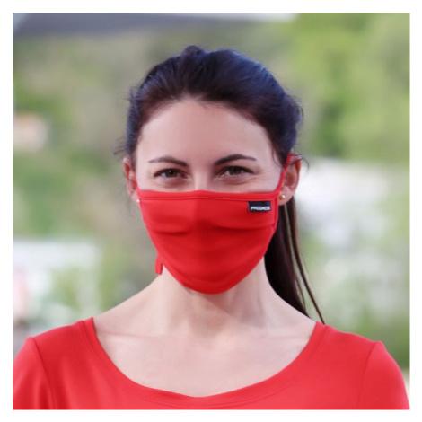 Progress GESICHTSMASKE LITE rot - Gesichtsmaske mit Täschchen