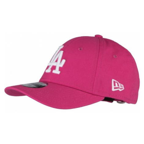 New Era KIDS LEAGUE ESSENTIAL 9FORTY LOS ANGELES DODGERS rosa - Kinder Cap