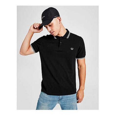 Fred Perry Twin Tip Short Sleeve Polo Shirt Herren - Herren