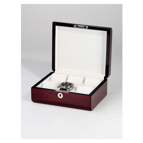Rothenschild Uhrenbox RS-2267-6-C für 6 Uhren cherry