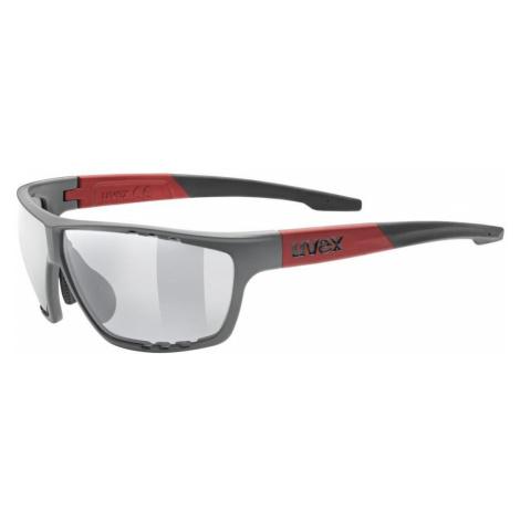 Uvex sportstyle 706 Sportsonnenbrille grau/rot,grey mat-red