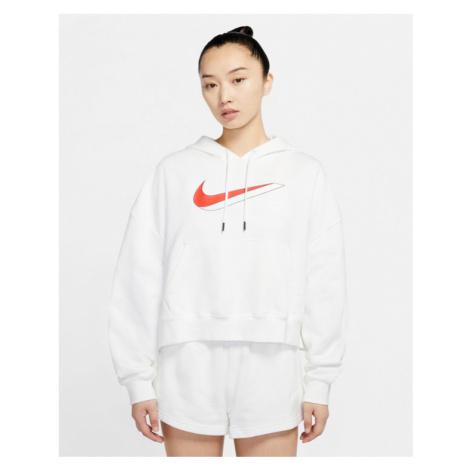 Nike Sportswear Icon Clash Fleece Sweatshirt Weiß
