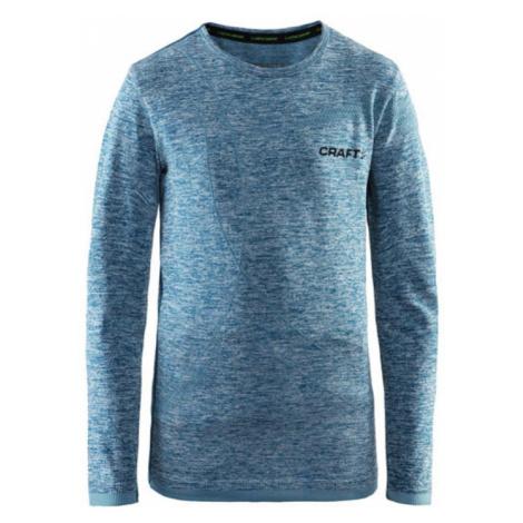 T-Shirt CRAFT Active Comfort LS 1903777-B370 - blue