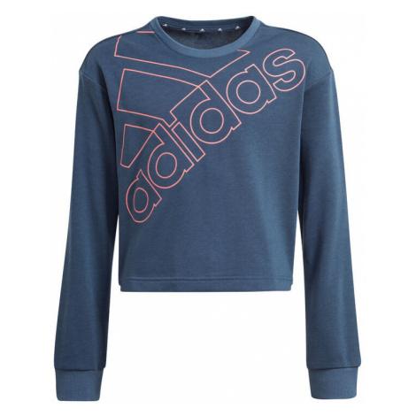 Essentials Logo Graphics Sweatshirt Adidas