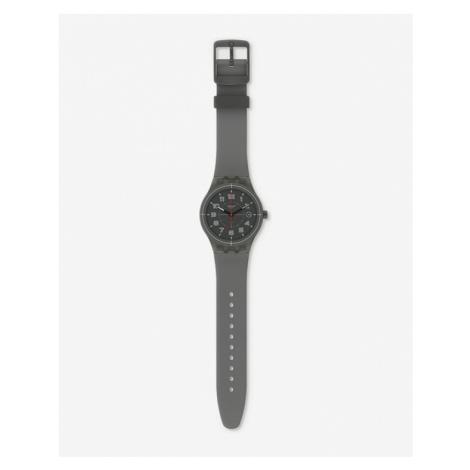 Swatch Sistem Ash Armbanduhr Grau
