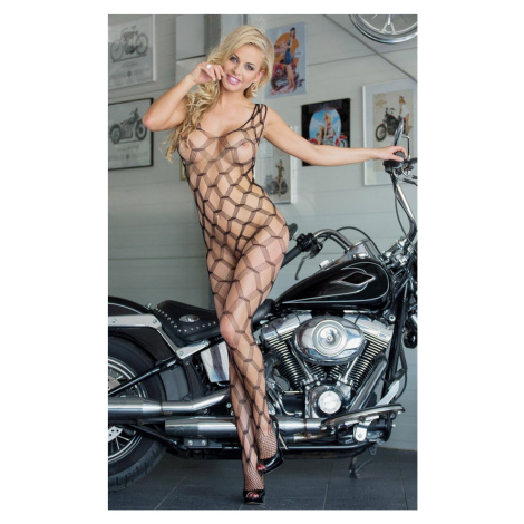 Damen Bodystockings She-cat black SoftLine Collection