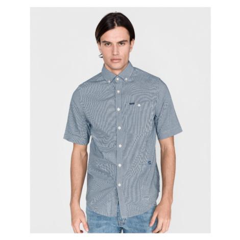 G-Star RAW Hemd Blau Weiß