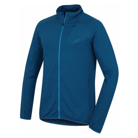 Herren Sweatshirt Husky Tarp Zip M d.blue