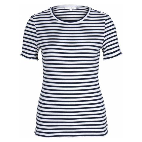 TOM TAILOR DENIM Damen T-Shirt, blau