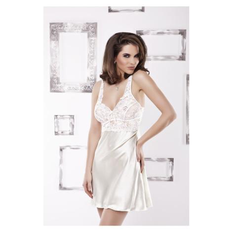 Luxuriöse Nachthemden für Damen Paris light cream DKaren