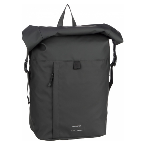 Sandqvist Rucksack / Daypack Konrad Backpack Black (18 Liter)