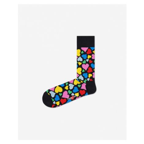 Happy Socks Heart Socken Schwarz mehrfarben