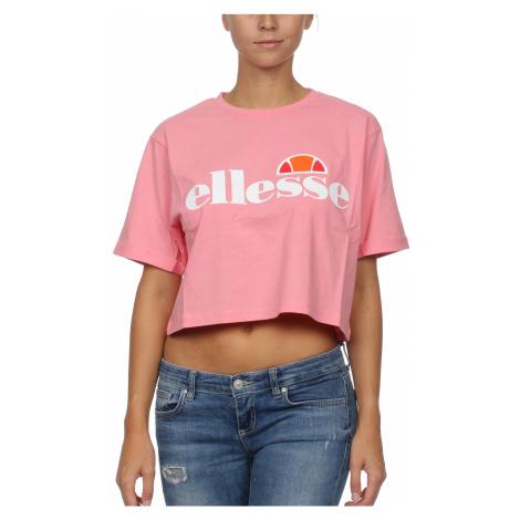 Ellesse T-Shirt Damen ALBERTA CROP Rosa Light Pink