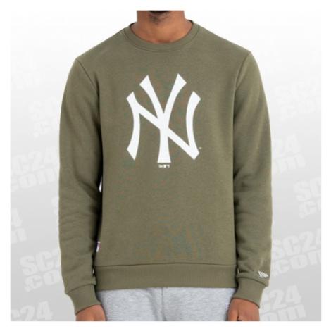 New Era New York Yankees Team Logo Crew grün/weiss Größe S