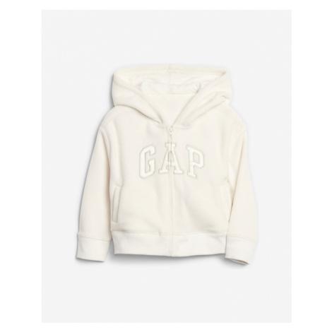 GAP Sweatshirt Kinder Weiß