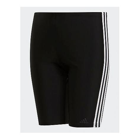 Adidas 3-Streifen Jammer-Badehose - Black / White, Black / White