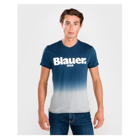 Blauer Shaded T-Shirt Blau