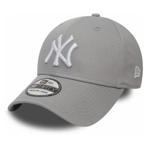 New Era 39Thirty League Cap - NY YANKEES - Grey-White