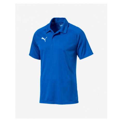 Puma Liga Sideline Polo T-Shirt Blau