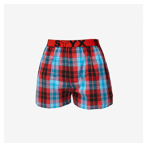 Styx Boxers Red/ Blue