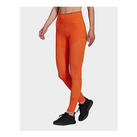 Adidas Originals Karlie Kloss Mesh High-Waist lange Tight - Active Orange - Damen, Active Orange