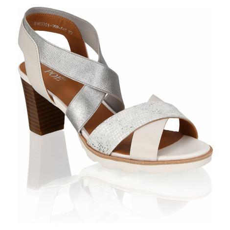 POE Glattleder Klassische Sandalen