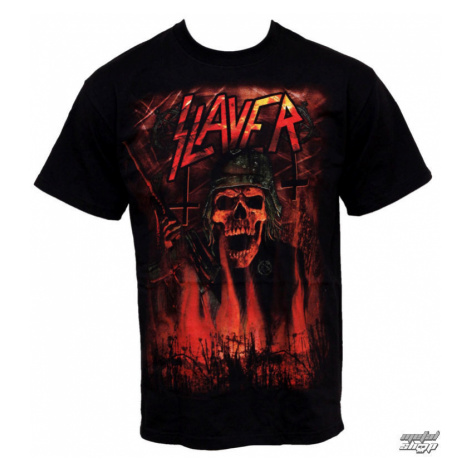 Metal T-Shirt Männer Slayer - Wehrmacht - ROCK OFF - SLAYTEE08MB M