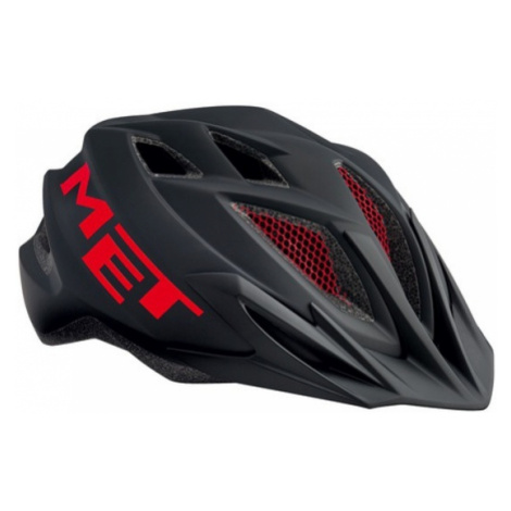 Helm MET allerweltskerl schwarz/rot - 52/57