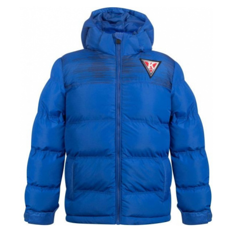Blaue sportjacken und jumpsuits für jungen
