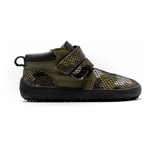 Kinder Barfußschuhe Be Lenka Play - Army 35