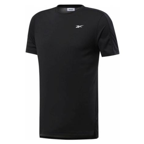 Reebok WORKOUT SS TECH TEE schwarz - Herren Shirt