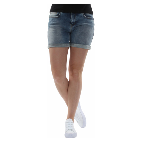 LTB Shorts Damen BECKY X Rosalia Undamaged Wash Dunkelblau