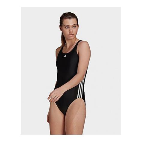 Adidas SH3.RO Classic 3-Streifen Badeanzug - Black / White - Damen, Black / White