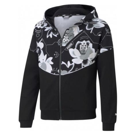 Puma ALPHA FULL ZIP TR G - Kapuzenpullover für Mädchen