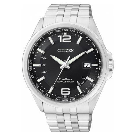 Citizen Eco-Drive Elegant CB0010-88E 4-Zonen Funkuhr 43 mm 100M