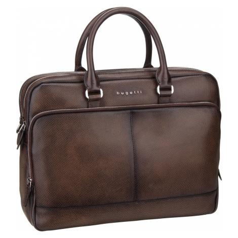 Bugatti Aktentasche Perfo Briefbag Large Braun (14.3 Liter)