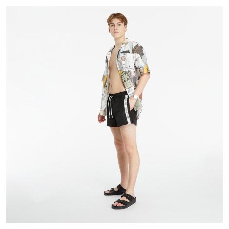 Calvin Klein Medium Drawstring Swim Shorts Black