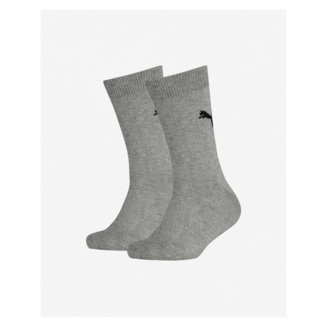 Puma Easy Rider Socks 2 pairs Kids Grau