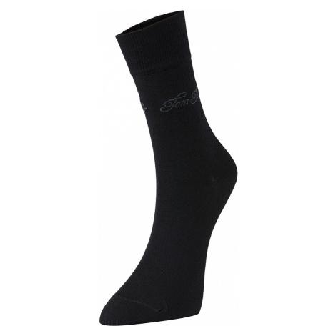 TOM TAILOR Damen Socken im Doppelpack, schwarz, unifarben