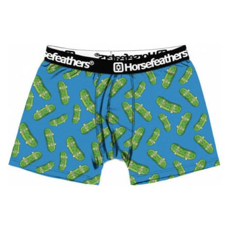 Horsefeathers SINDEY BOXER SHORTS (PICKLES) blau - Herren Boxershorts