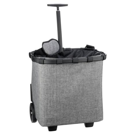 Reisenthel Einkaufstasche carrycruiser Twist Silver (40 Liter)