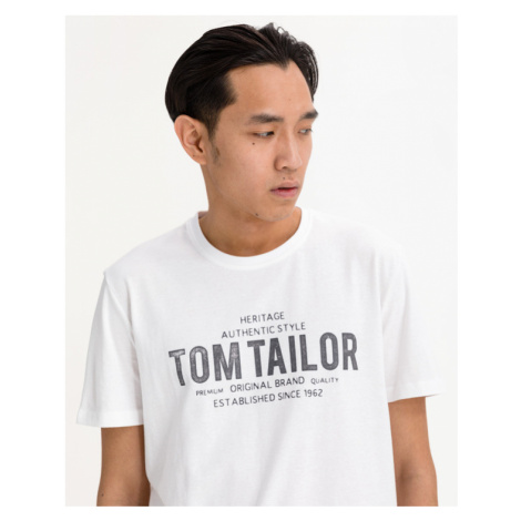 Tom Tailor T-Shirt Weiß