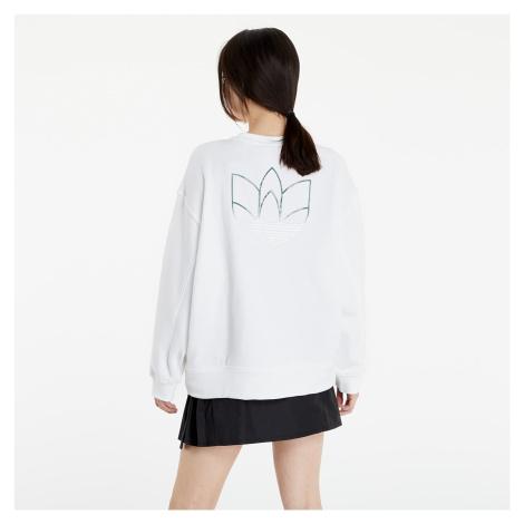 adidas Oversize Sweatshirt White