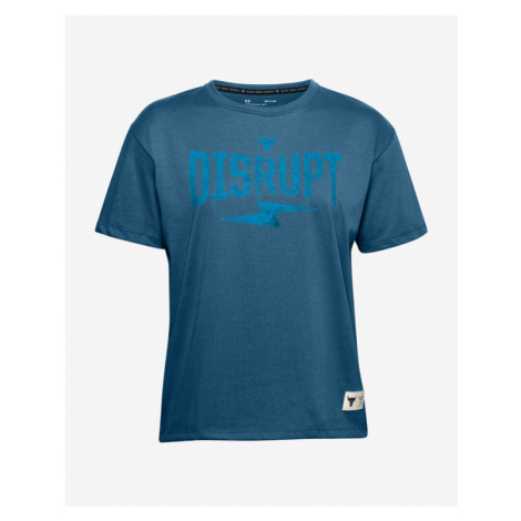 Under Armour Project Rock Disrupt T-Shirt Blau