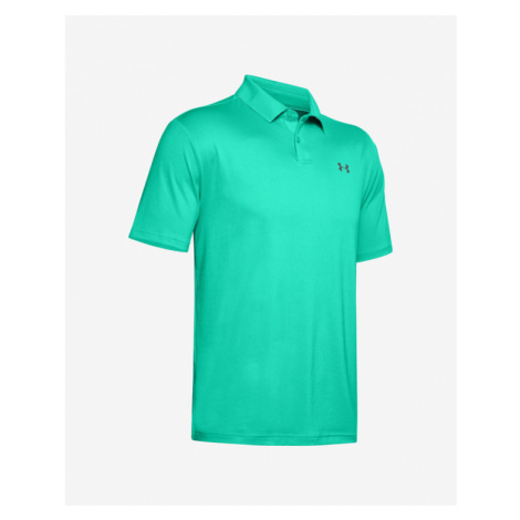 Under Armour Performance Poloshirt Blau Grün