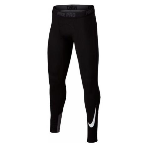 Nike WM TGHT GFX schwarz - Jungen Sport-Leggings